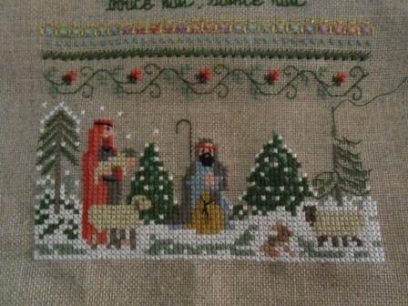SAL de la tentation Noël  3 ème avancée SAM_8483