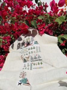 Tree Farm de V. Sampler dans mon bougainvillier ! sam_9737-224x300